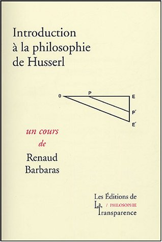 Introduction à la philosophie de Husserl