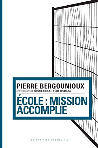 Ecole : mission accomplie