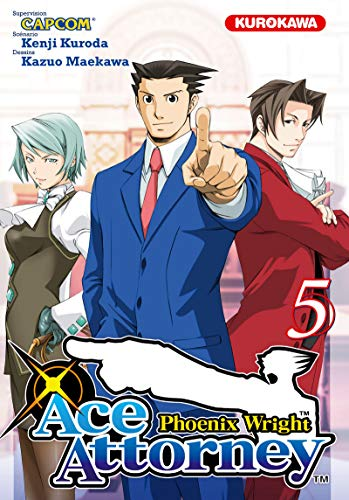 Phoenix wright : ace attorney, Tome 5 :