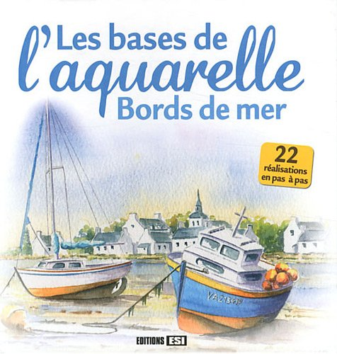 Bases de l'aquarelle bords de mer