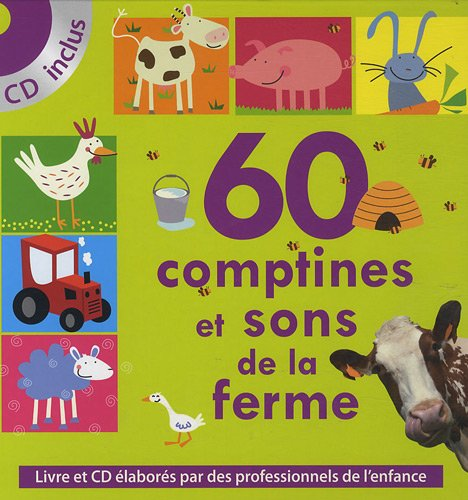 60 comptines et sons de la ferme (1CD audio)