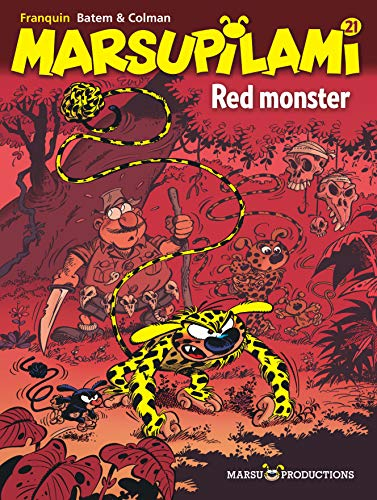 Marsupilami, Tome 21 : Red monster