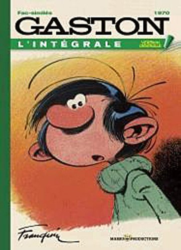 Gaston, Tome 10 : Version originale 1970