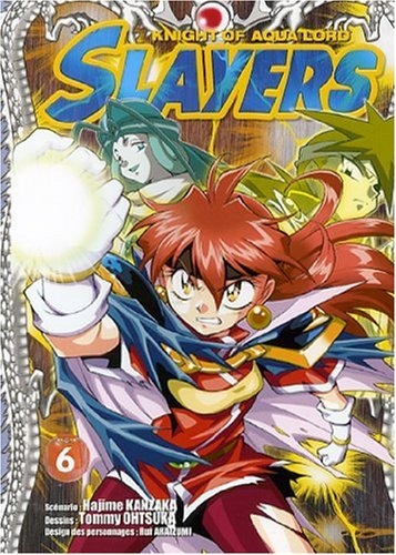 Slayers The Knight of Aqua Lord, Tome 6