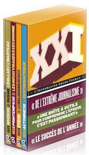 Coffret 2008 - XXI - 4 Volumes