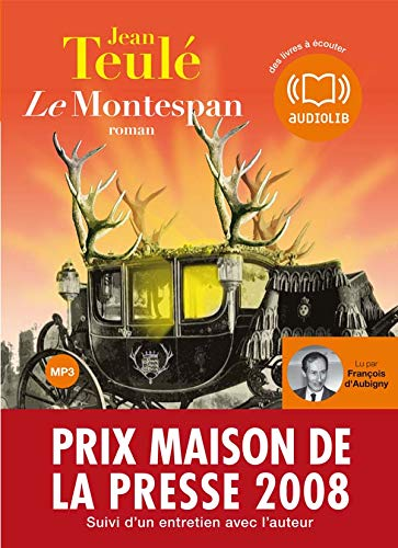 Le Montespan (op) - Audio livre 1 CD MP3 660 Mo