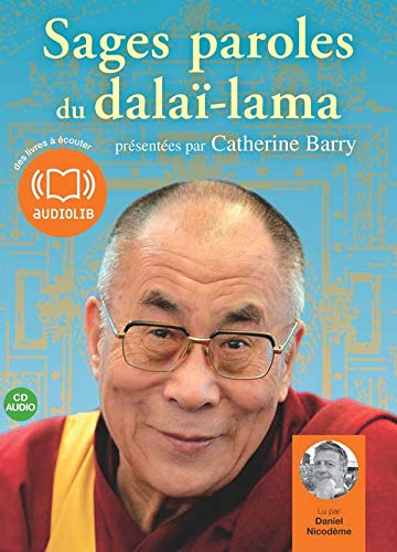 Sages paroles du dalaï-lama z - Audio livre 1CD audio
