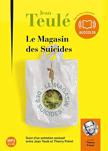 Le magasin des suicides (cc) - Audio livre 1CD MP3 - 296 Mo