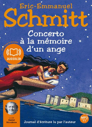 Concerto à la mémoire d'un ange (op) - Audio livre 1 Cd MP3 - 541 Mo
