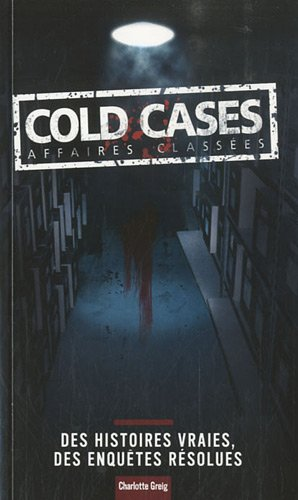 Cold cases : Affaires classées