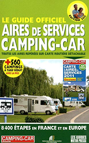 Le guide officiel des aires de services camping-cars