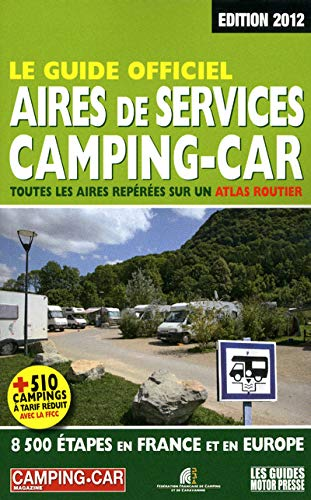 Guide officiel des aires de service 2012