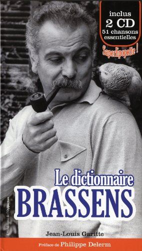 Le dictionnaire Brassens (2CD audio)