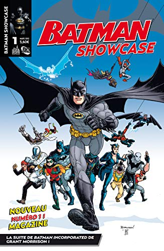 Dc presse - Batman showcase, tome 1