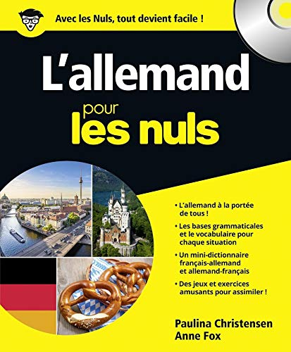 L'allemand pour les nuls [ensemble multi-supports] / Paulina Christensen et Anne Fox ; traduction, Claude Raimond.