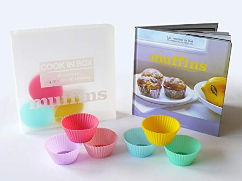 Cook'in Box Muffins : 28 Recettes et 9 moules en silicone