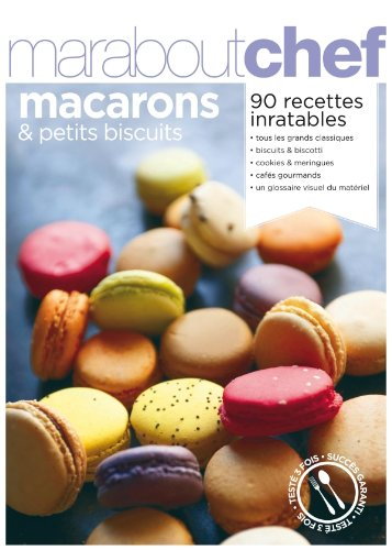 petits biscuits et macarons