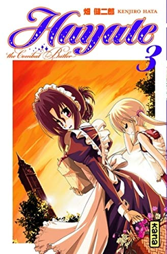 Hayate The Combat Butler, Tome 3