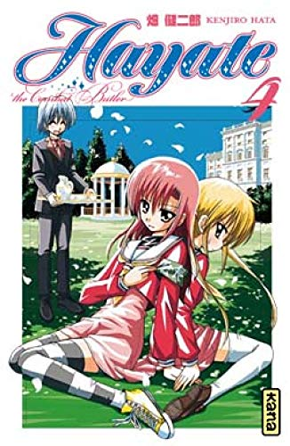 Hayate The Combat Butler, Tome 4 :