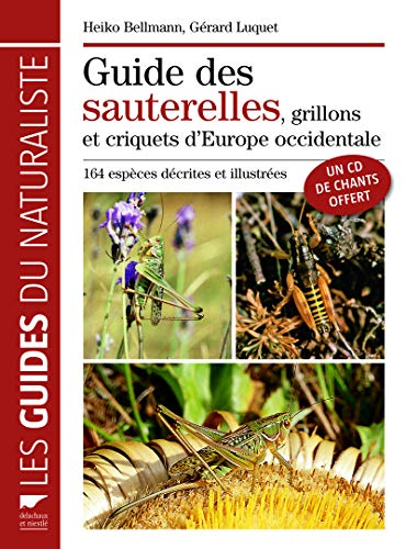 Le guide des sauterelles, grillons et criquets d'Europe occidentale 1CD audio