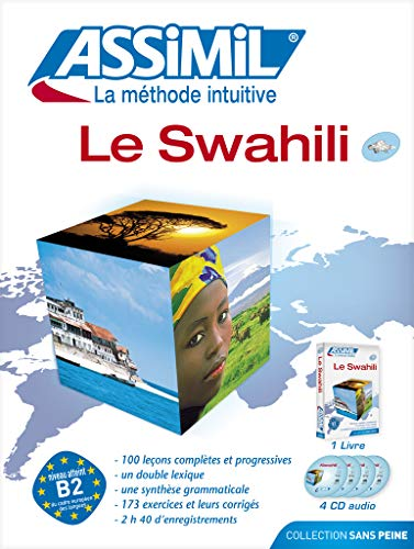 Pack CD Swahili (livre + 4 CD audio)