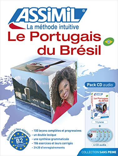 Le portugais du Brésil (4CD audio)