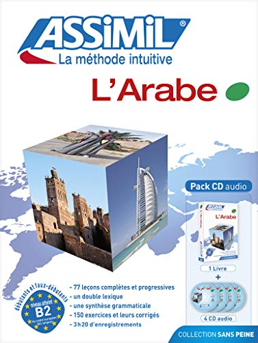 L'Arabe ; Livre + CD Audio (x4)