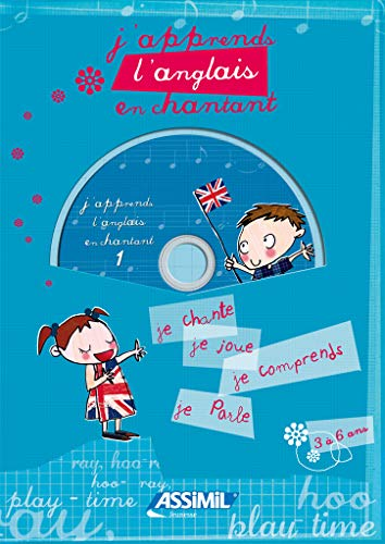 J'apprends l'anglais en chantant ; Album + CD Audio