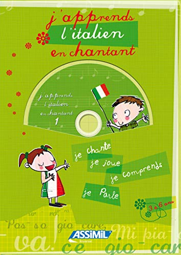 J'apprends l'italien en chantant ; Album + CD Audio