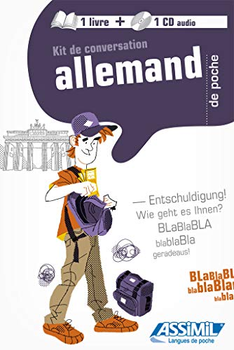 Kit de conversation allemand de poche (1CD audio)