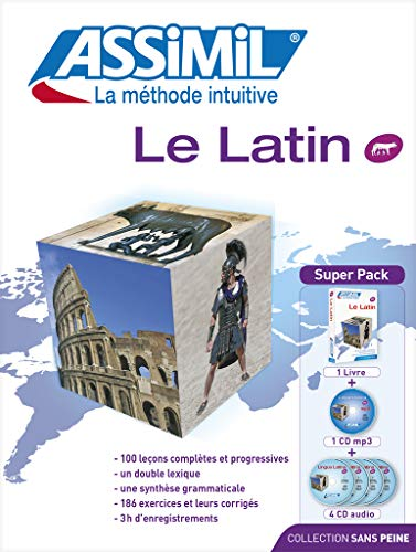 Le Latin : Avec CD mp3 (4CD audio)