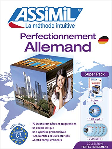 Perfectionnement allemand : Avec 4 CD audio (1CD audio MP3)