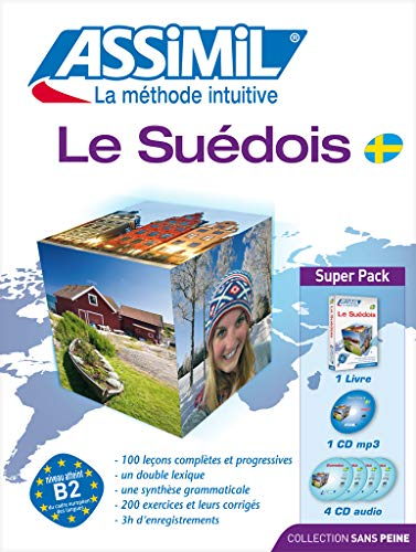 Le Suédois: livre + 4 CD audio + 1 CD mp3