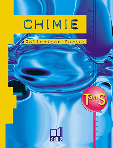 Chimie term s oblig. 2002 eleve
