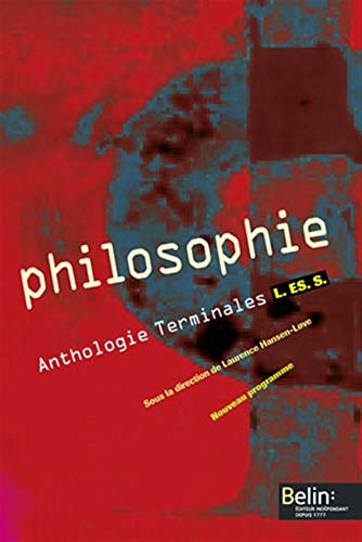 Philosophie Anthologie Tles L-ES-S