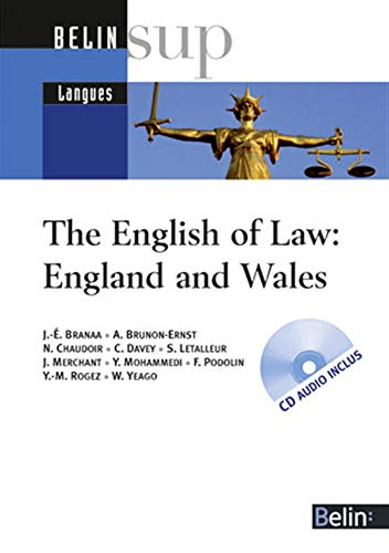 The English of Law: England and Wales (1CD audio)