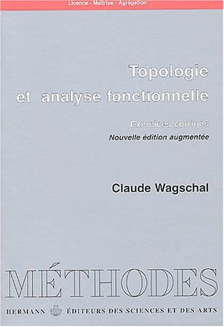 Topologie et analyse fonctionnelle