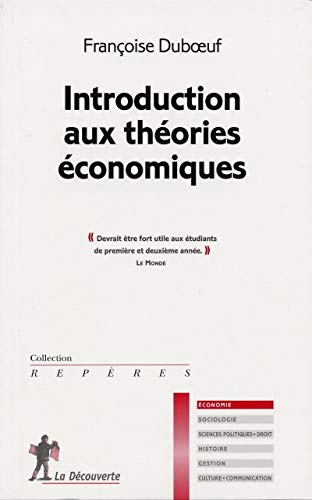 Introduction aux theories economiques