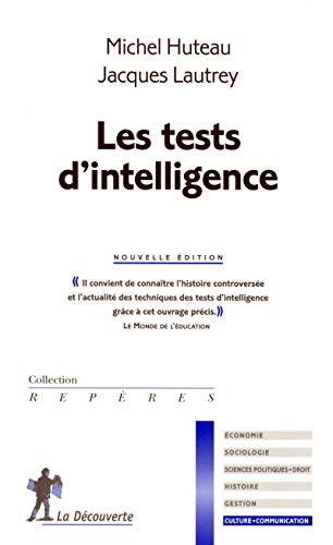 Les tests d'intelligence