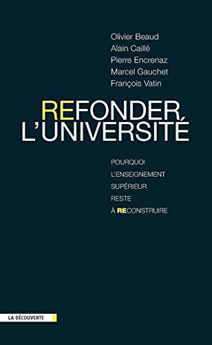 Refonder l'université