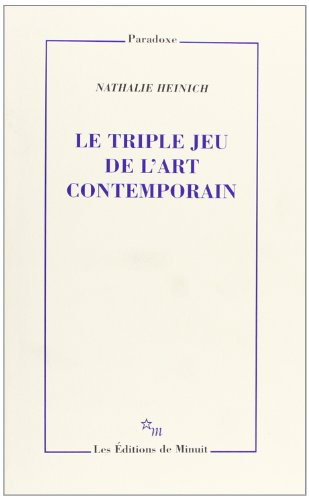 Triple jeu de l'art contemporain (le)