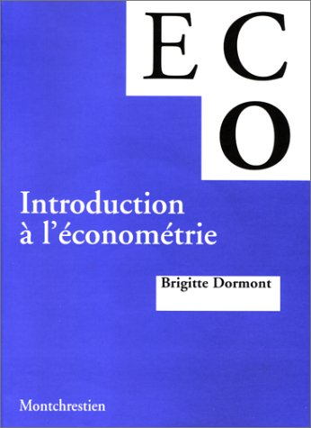 Introduction à l'économétrie