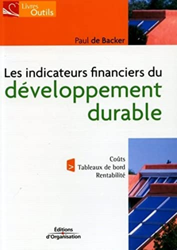 Les indicateurs financiers du développement durable