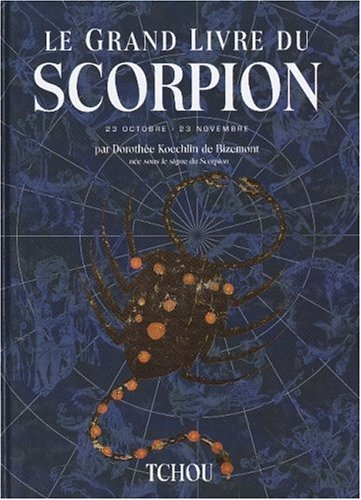 Grand livre du scorpion