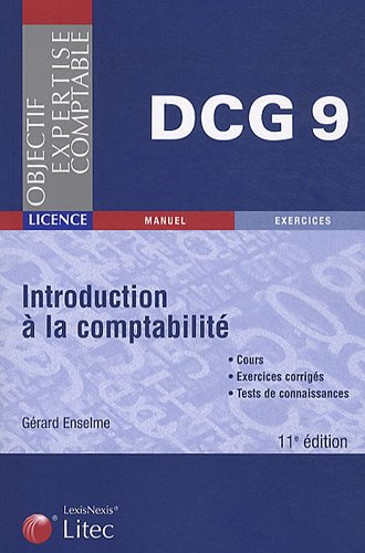 Introduction à la comptabilité DCG 9