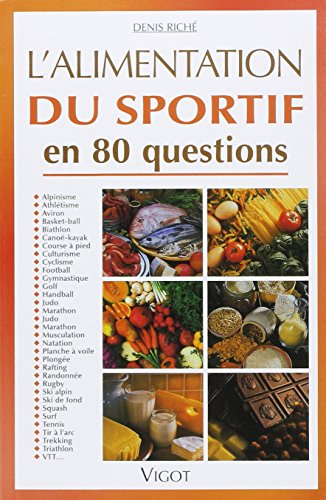 Alimentation sportif 80 questions