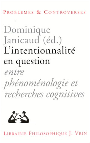 L'Intentionnalité en question