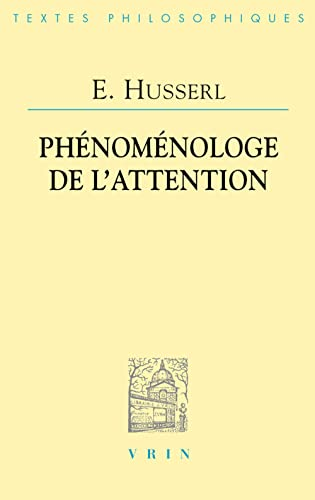 Phénoménologie de l'attention