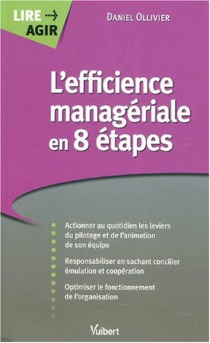 L'efficience managériale en 8 étapes