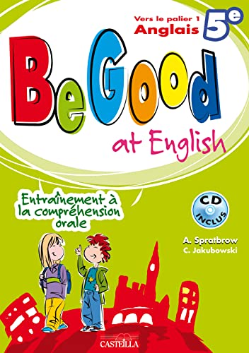 Be Good at english 5e (1CD audio)